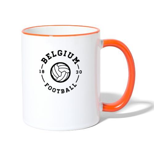 Belgium football - Belgique - Belgie - Mug contrasté
