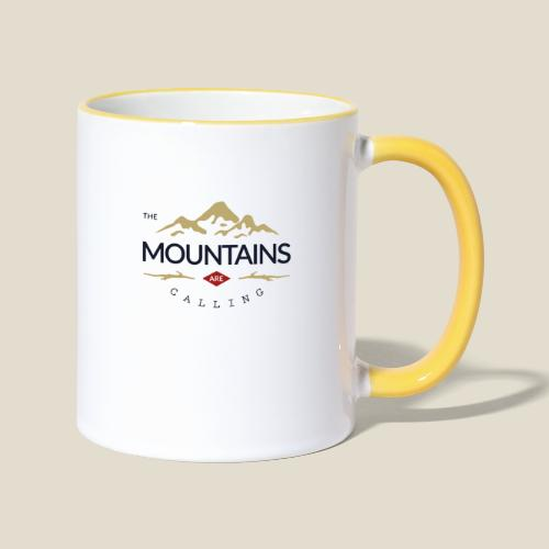 Outdoor mountain - Mug contrasté