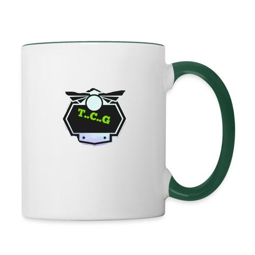 Cool gamer logo - Contrasting Mug