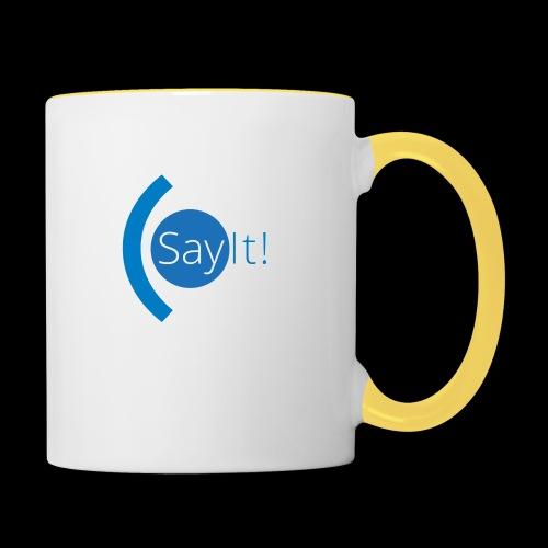Sayit! - Contrasting Mug