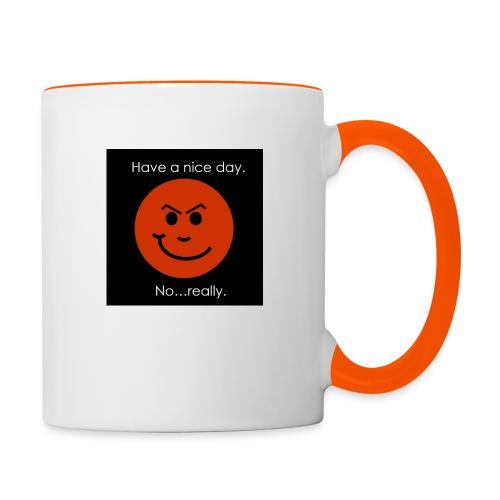 Have a nice day - Tofarvet krus