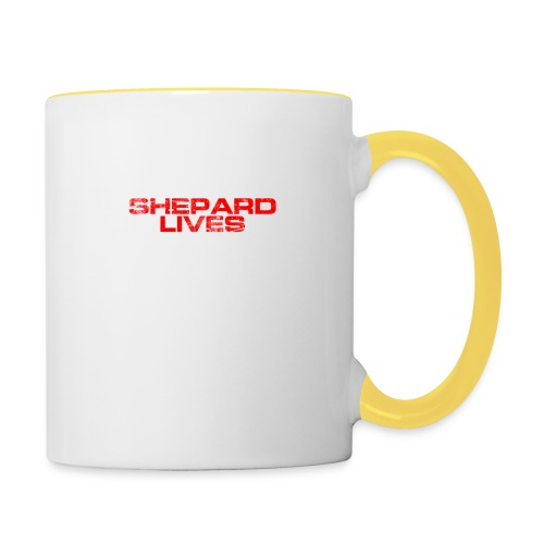 Shepard lives - Contrasting Mug