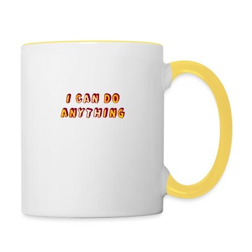 I can do anything - Contrasting Mug