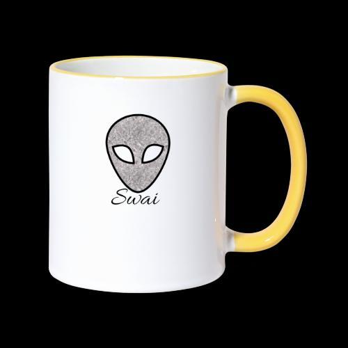 swai alien - Tasse zweifarbig