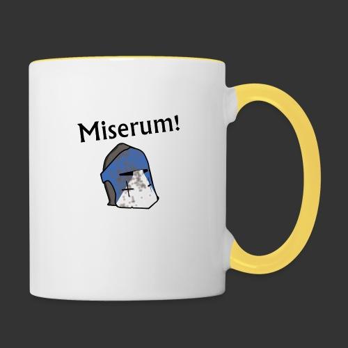 Warden Cytat Miserum! - Kubek dwukolorowy