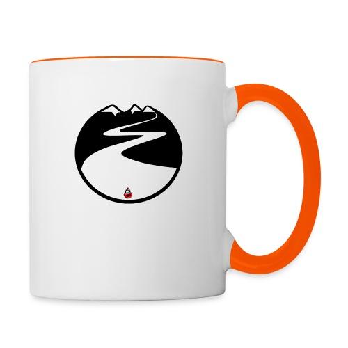 Montagne noire - Mug contrasté
