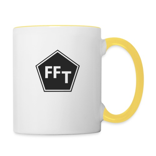FFT B&W logo - Contrasting Mug