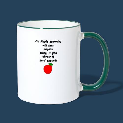 Apple Doctor - Tasse zweifarbig