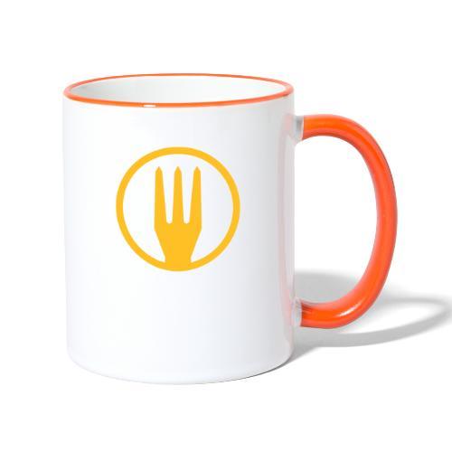 Frietvork Belgium 2018 - trident - Mug contrasté
