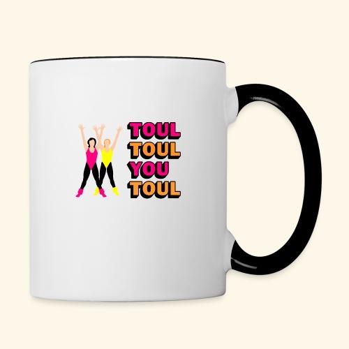 Toul Toul You Toul - Mug contrasté