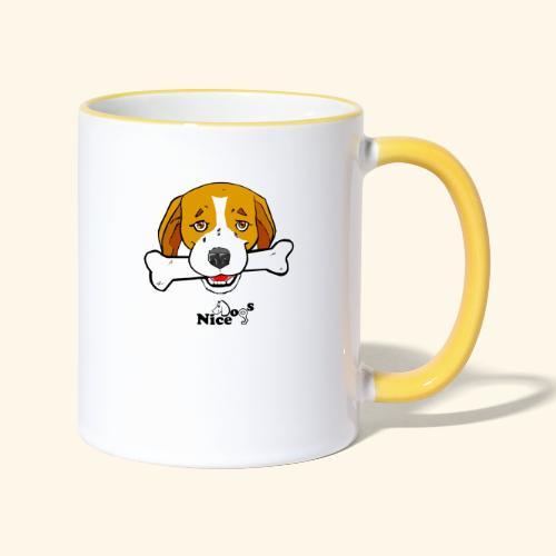 Nice Dogs Semolino - Tazze bicolor