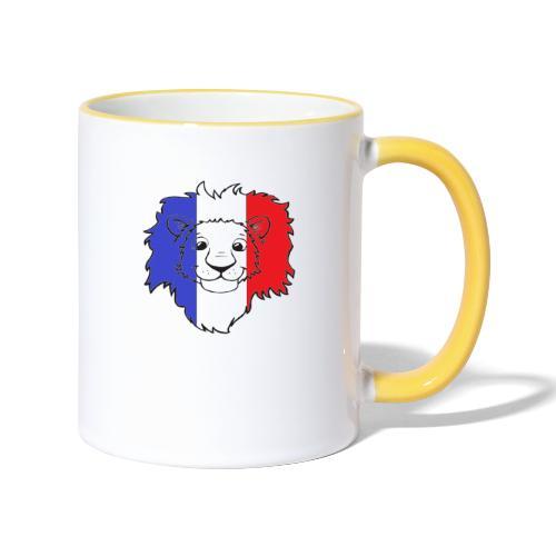 Lion France - Mug contrasté
