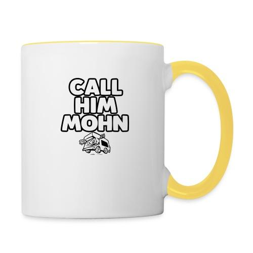 CallHimMohn - Tasse zweifarbig