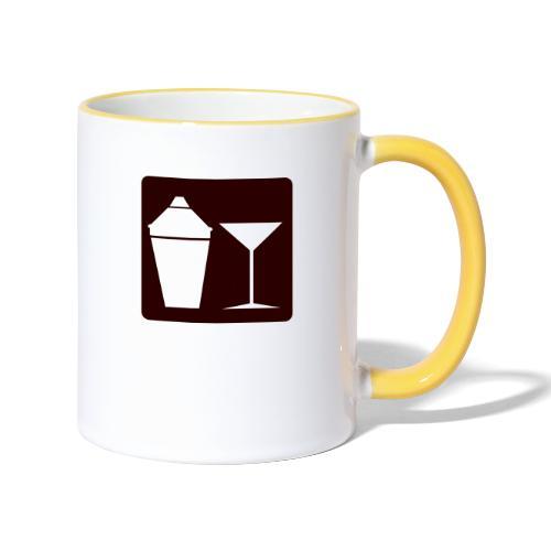 Alkohol - Tasse zweifarbig