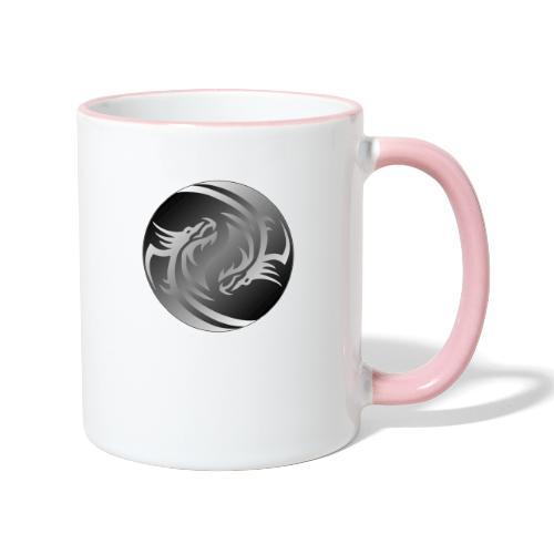Yin Yang Dragon - Contrasting Mug