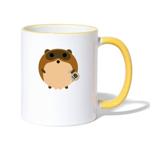 TANUKI - Mug contrasté