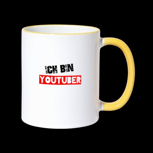 Youtube Youtuber Influencer Vlogger Gamer - Tasse zweifarbig