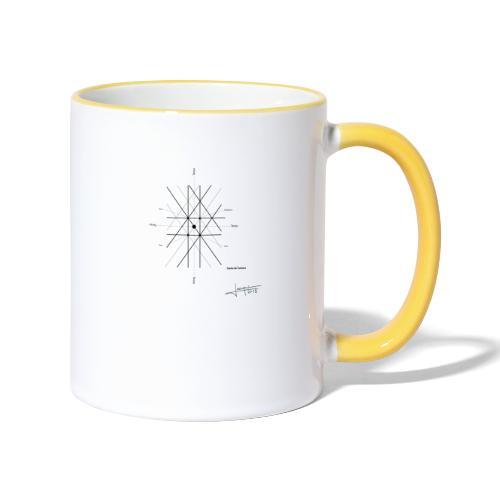 mathematique du centre_de_lunivers - Mug contrasté