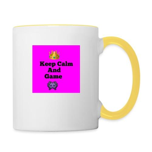 Keep Calm - Contrasting Mug