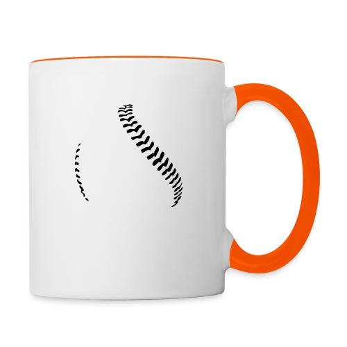 Baseball - Contrasting Mug