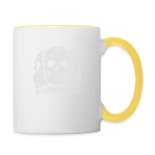 Skull Dia de los muertos - Mug contrasté