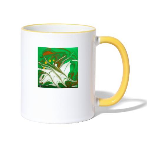 TIAN GREEN Mosaik CG002 - quaKI - Tasse zweifarbig