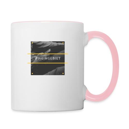 MeinGebiet - Tasse zweifarbig