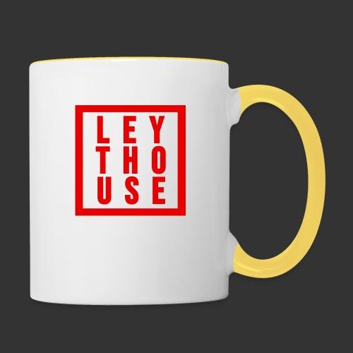 LEYTHOUSE Square red - Contrasting Mug