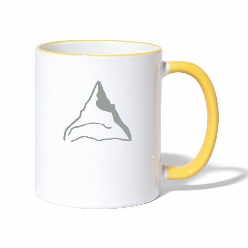 Berg klein - Tasse zweifarbig