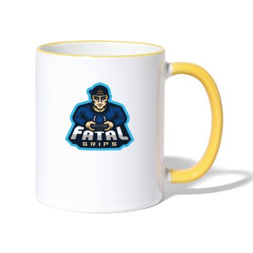 Fatal Grips Merch - Tvåfärgad mugg