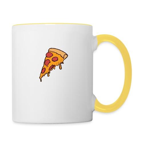 Pizza - Taza en dos colores