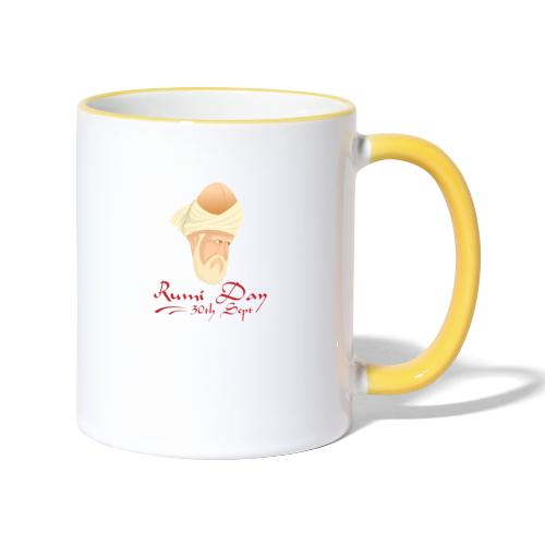 Rumi Day, 30th Sept - Contrasting Mug