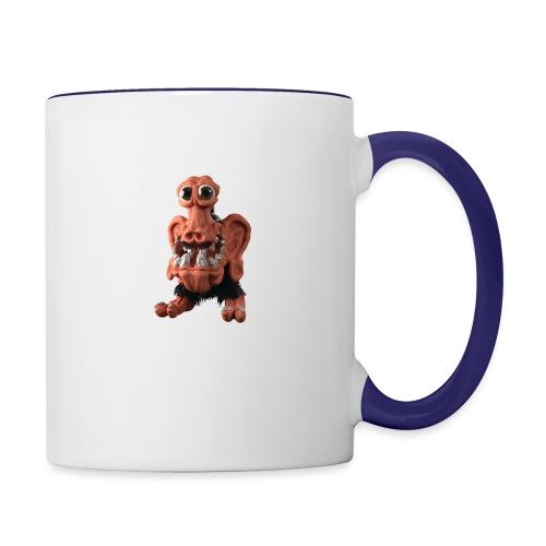 Very positive monster - Contrasting Mug