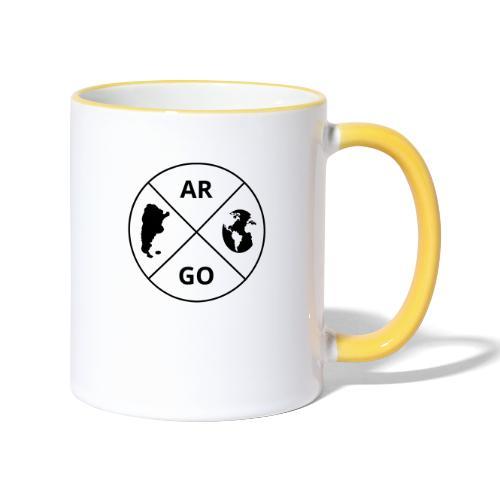 Logo Argo - Taza en dos colores