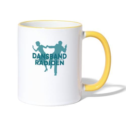 Grønn Logo - Tofarget kopp