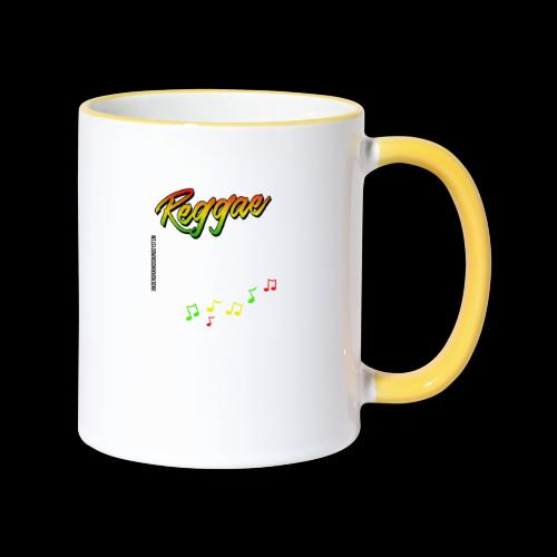 Reggae - Catch the Wave - Tasse zweifarbig