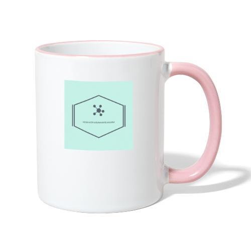 Ich bin nicht so dumm wie du aussiehst - Tasse zweifarbig