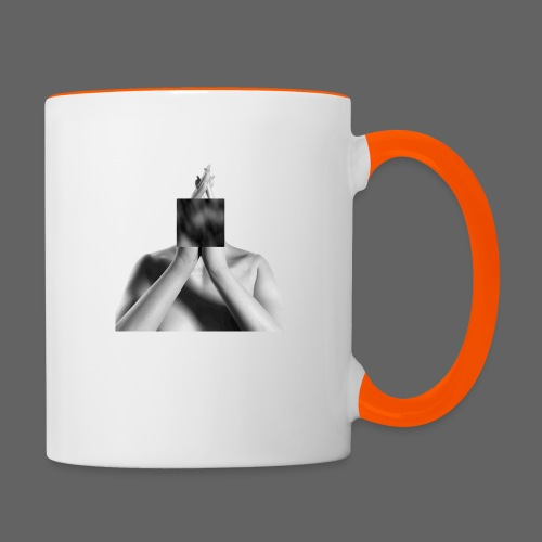 kube w - Contrasting Mug