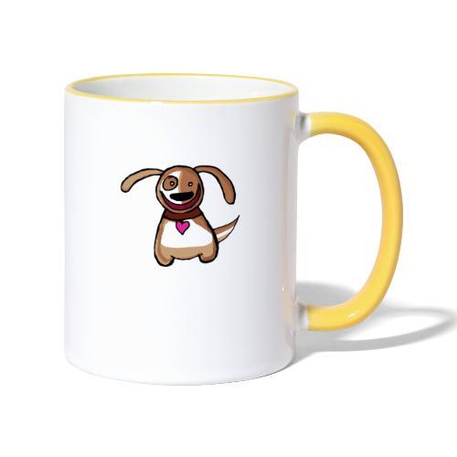 Titou le chien - Mug contrasté