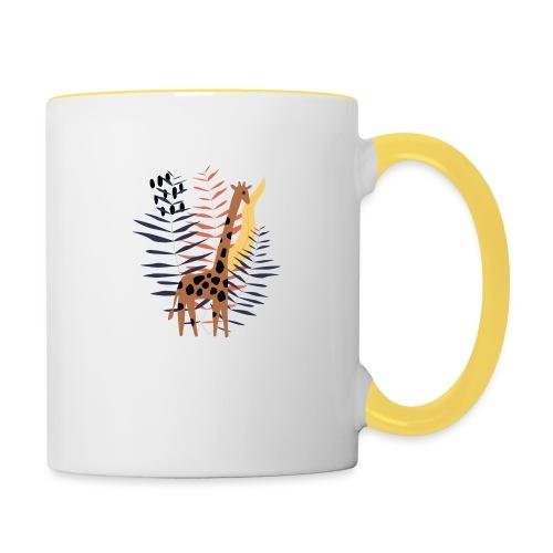 Giraffe - Tazze bicolor