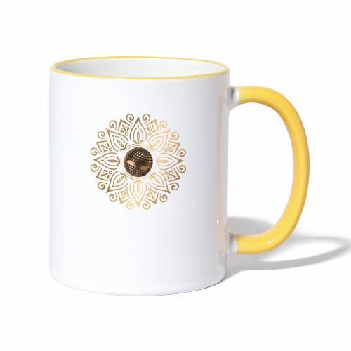petanque sun - Mug contrasté