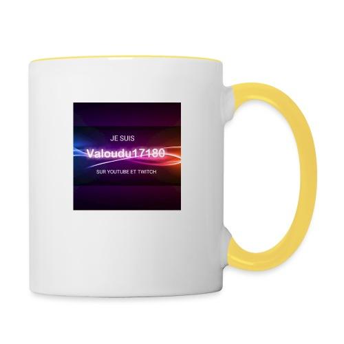 Valoudu17180twitch - Mug contrasté