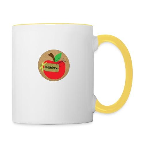 pomme - Mug contrasté