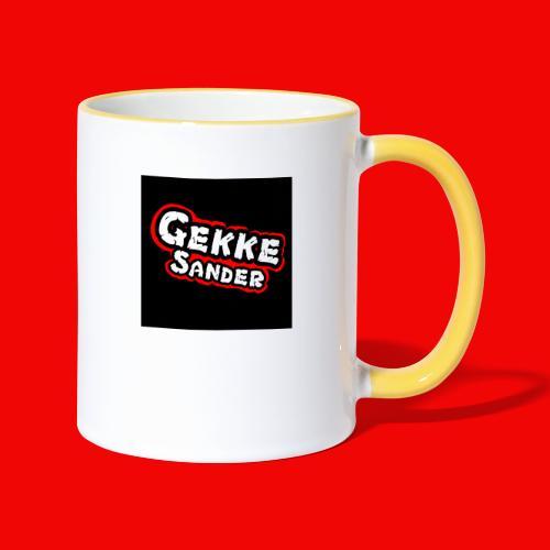 GekkeSander Logo - Mok tweekleurig