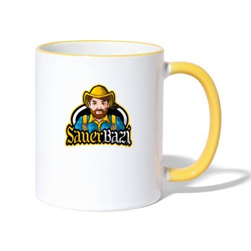 SauerBazi Logo - Tasse zweifarbig