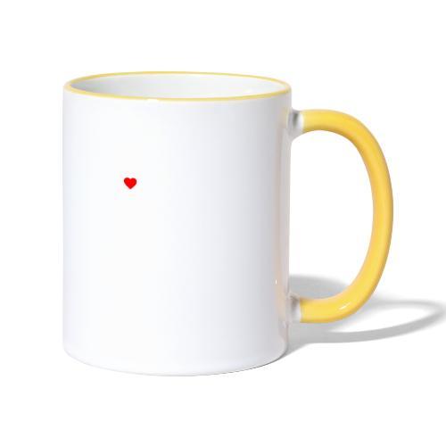 I ❤️ FRIEDBERG #DAHOAM - Tasse zweifarbig