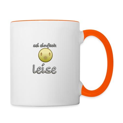 seileise - Tasse zweifarbig