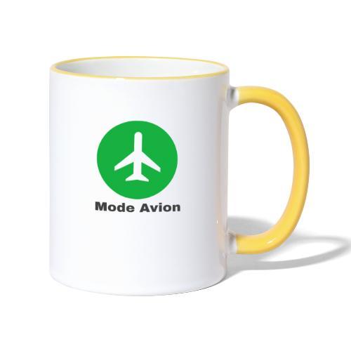 Mode Avion - Mug contrasté