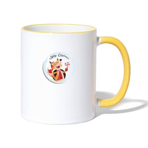 marry chrismas2 - Mug contrasté