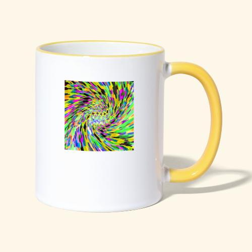 Vortice psichedelico - Tazze bicolor